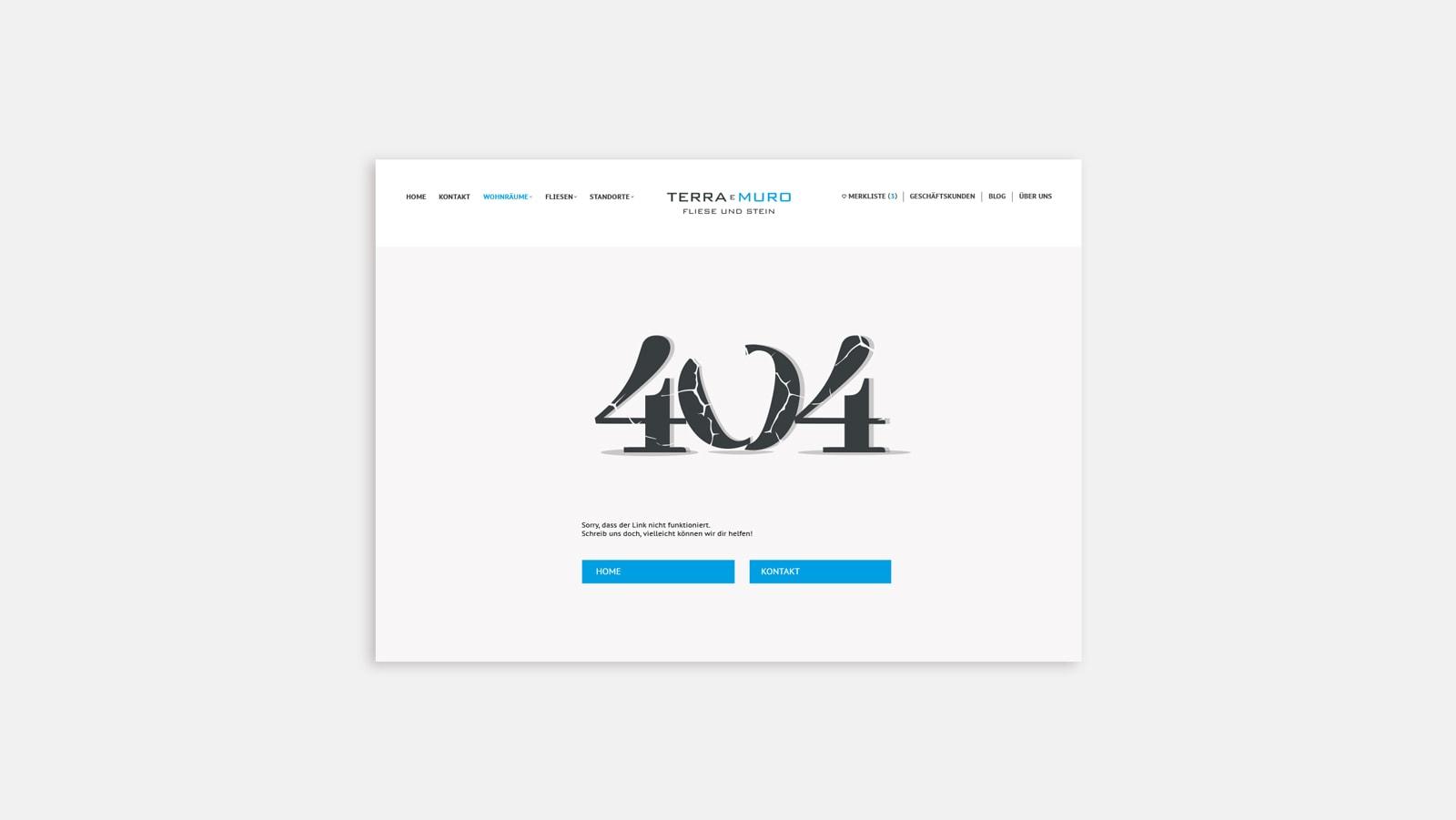 Webseiten Relaunch für Terra E Muro