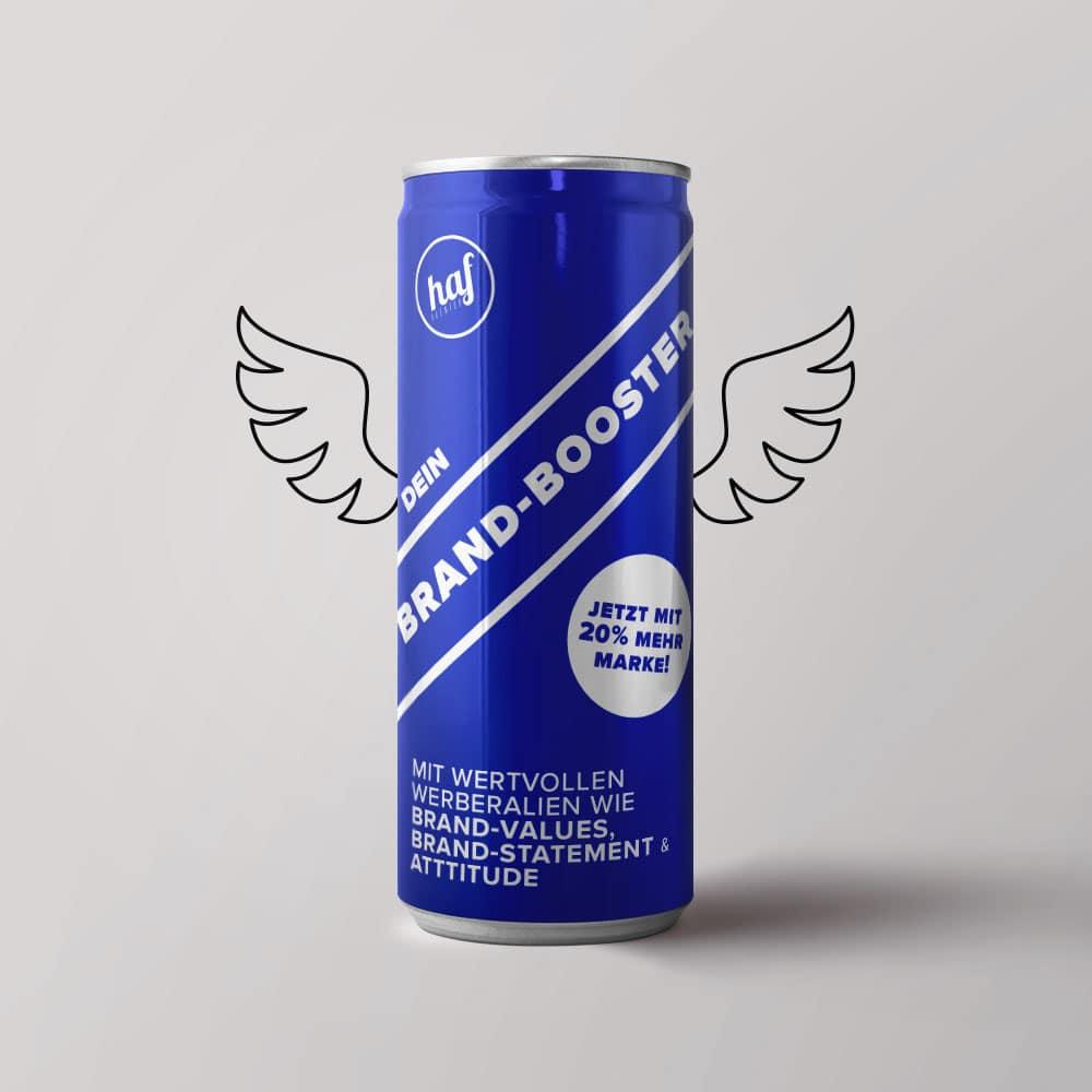 Beispiel für Design und Branding eines Energy-Drinks